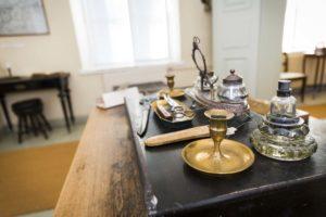 Vanhan Vaasan museon esineistöä