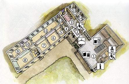 Pohjakuva Pohjanmaan museosta