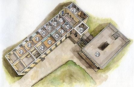 Bottenplan av Österbottens museum